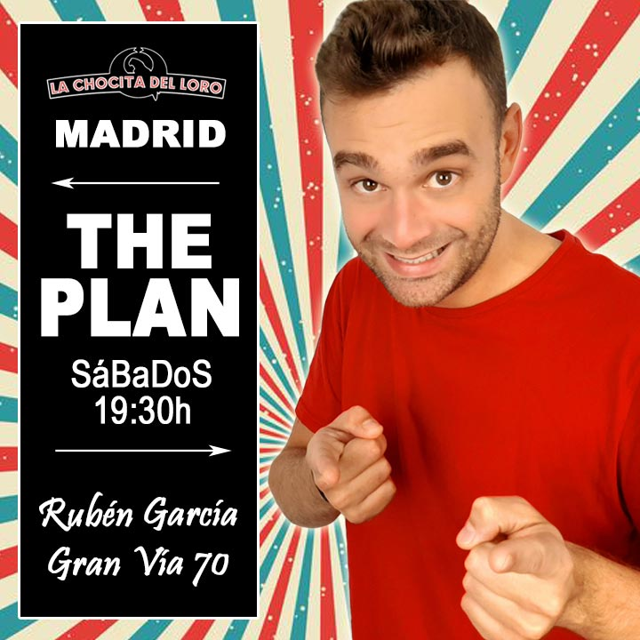 The Plan, Rubén García en Madrid